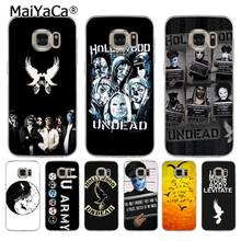 MaiYaCa Hollywood Undead Top Detailed Popular Phone case for samsung galaxy s7 s6 edge plus s5 s9 s8 plus case(China)