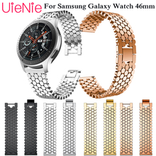 все цены на 22mm Stainless Steel Watch band for Samsung Gear S3 Classic Frontier wristband For Samsung Galaxy Watch 46mm Bracelet Link Strap онлайн