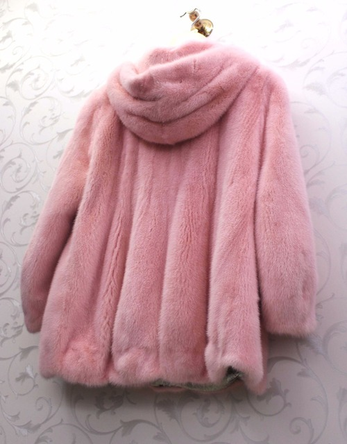 noble fashion natural fur mink fur women  coat freeshipping