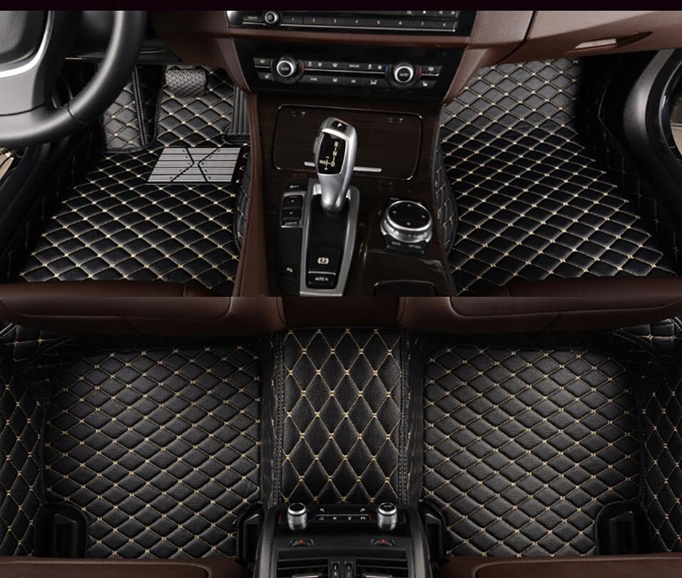 Mili car floor mats for Volkswagen Beetle CC Golf Passat Tiguan sharan 3D car styling carpet floor liner