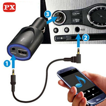 New Arrival Car A2DP Wireless Bluetooth AUX Audio Music Receiver 4.0 Adapter 3.5mm Stereo HiFi For Phone MP3 Charger