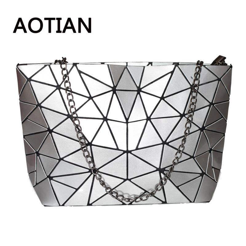 Women Bag Bao New Hologram Laser Handbags Fashion Chain Clutch Totes Crossbody Bags for Women femmes sac bolsos mujer