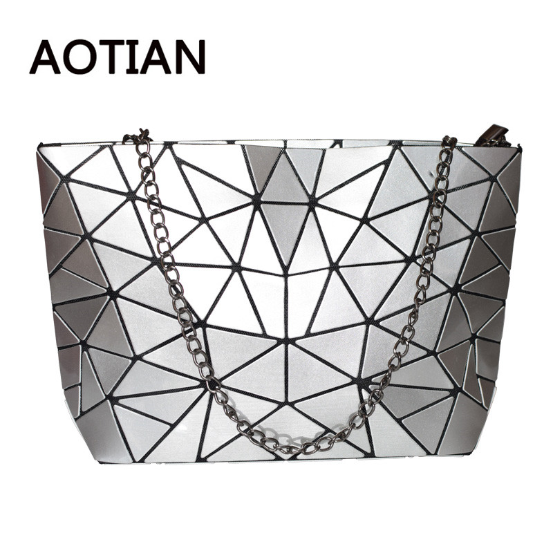 Women Bag Bao New Hologram Laser Handbags Fashion Chain Clutch Totes Crossbody  Bags for Women femmes sac bolsos mujer -in Shoulder Bags from Luggage   Bags  ... 4ff8444094232