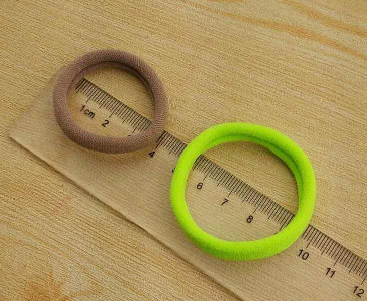 Hair accessories Bands For Girls Kids Children Headwear Hair bands Accessories Rubber Rope Elastic Hair Diameter 4cmcheap CJ001