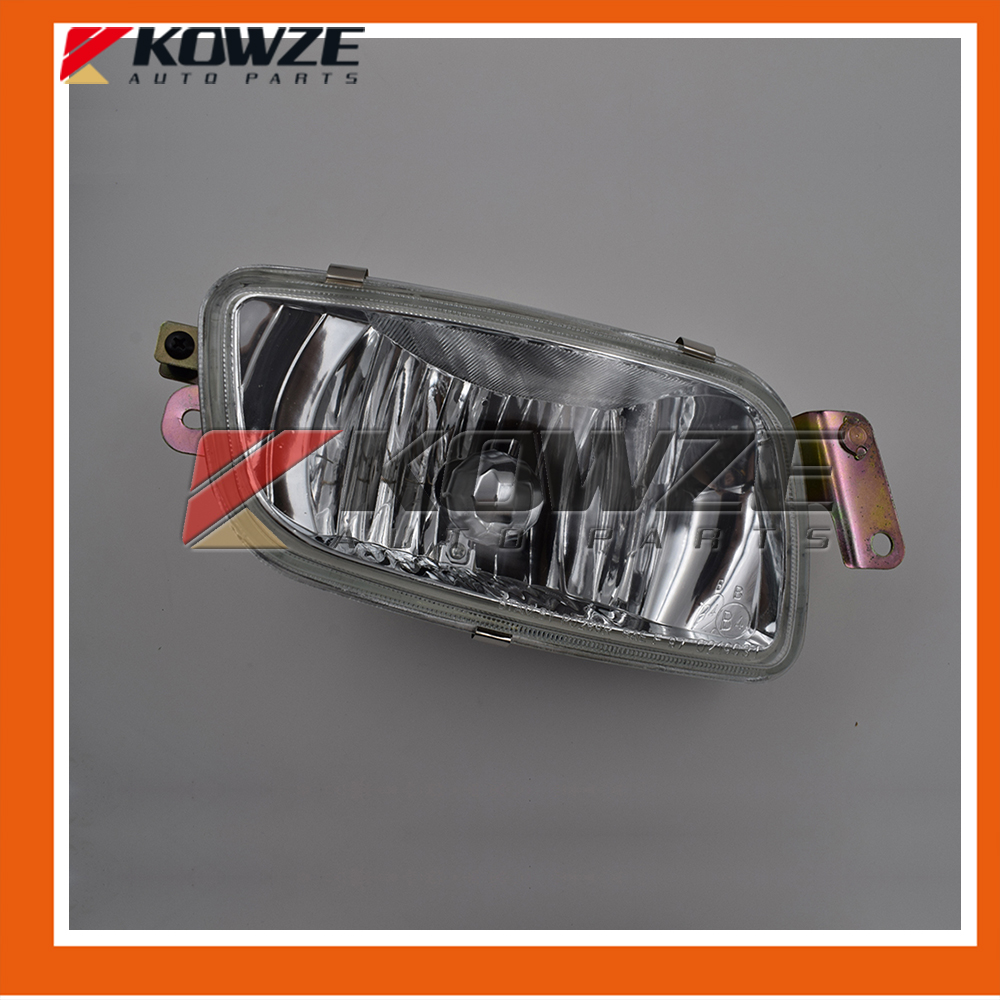 Front Right Fog Lamp Kit For Mitsubishi PAJERO MONTERO III 3rd 2000-2006 MR508190 air inlet snorkel for mitsubishi pajero montero shogun 3 iii v73 2000 2006
