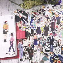 171 gab / partija Uzlīmes Lovely Girls kawaii scrapbooking uzlīme klēpjdatora klēpjdatoru bērniem rotaļlietas pegatinas meitenes DIY dienasgrāmatas dekorēšana