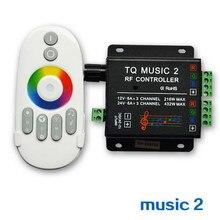 Contrôleur de musique, télécommande intelligente, sensibilité sonique, rétro-éclairage Led, pour bande lumineuse, dc 12 24V