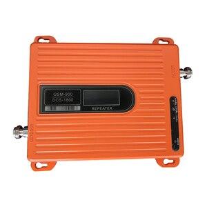 Image 3 - מגבר אות 900 1800 mhz Gsm נייד איתותים משחזר LTE נייד טלפון מגבר 70dbi, אנטנה הוא לא כלול