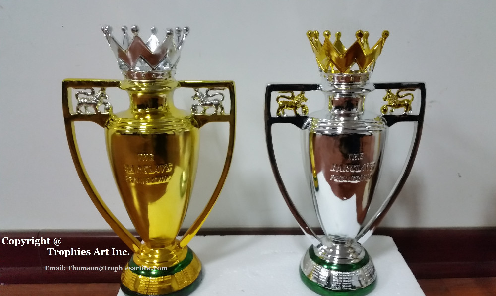 golden premier league trophy fa barclays champion cup limited
