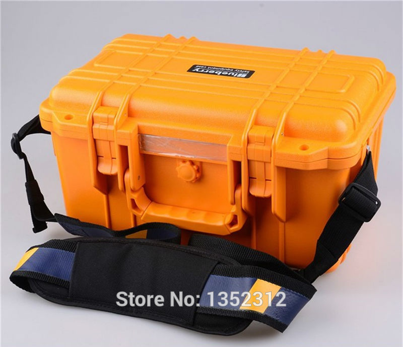 341*249*180mm Impact resistant sealed waterproof safety case canvas tool bag multifunction ip68 plastic tool box ...