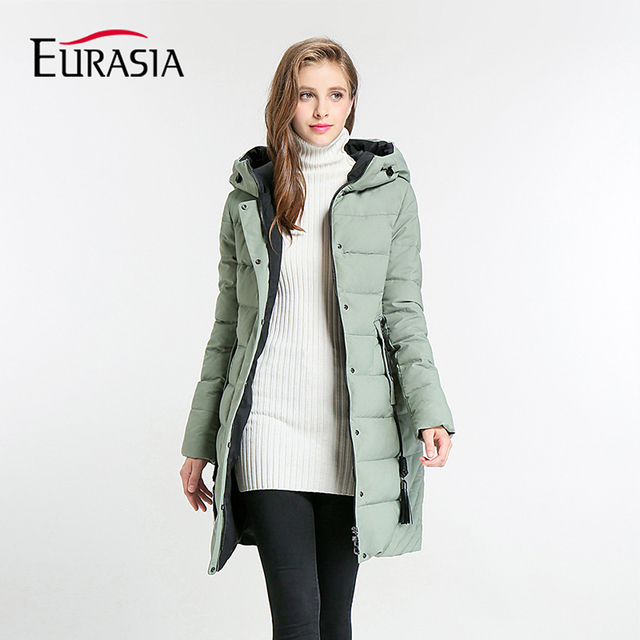 Eurasia Top Fashion Full Zipper Brands 2018 New Women S Winter