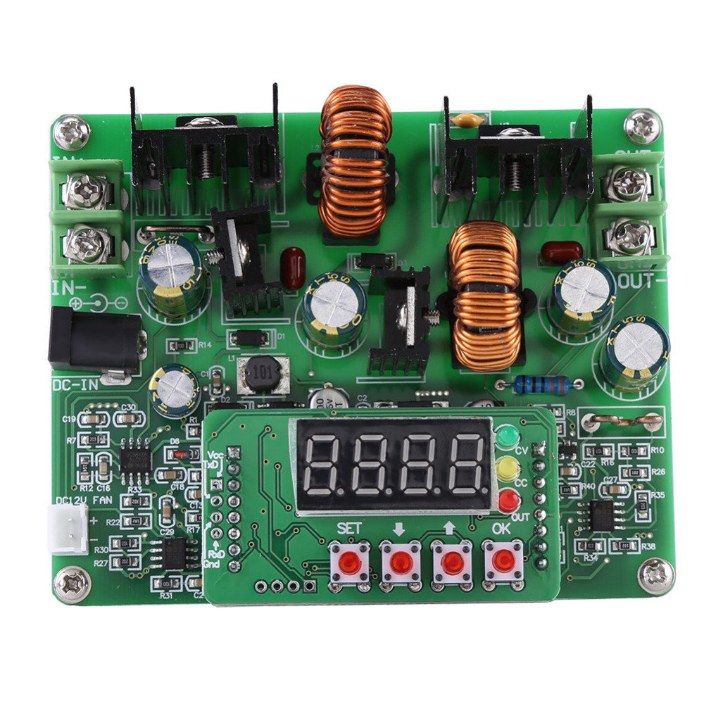 Dc To Converter 12v 38 V Is Pulse Generator Built On The 6v By Bd679 Digital Voltage Step Up Down Module Boost Buck Board 38v 6a
