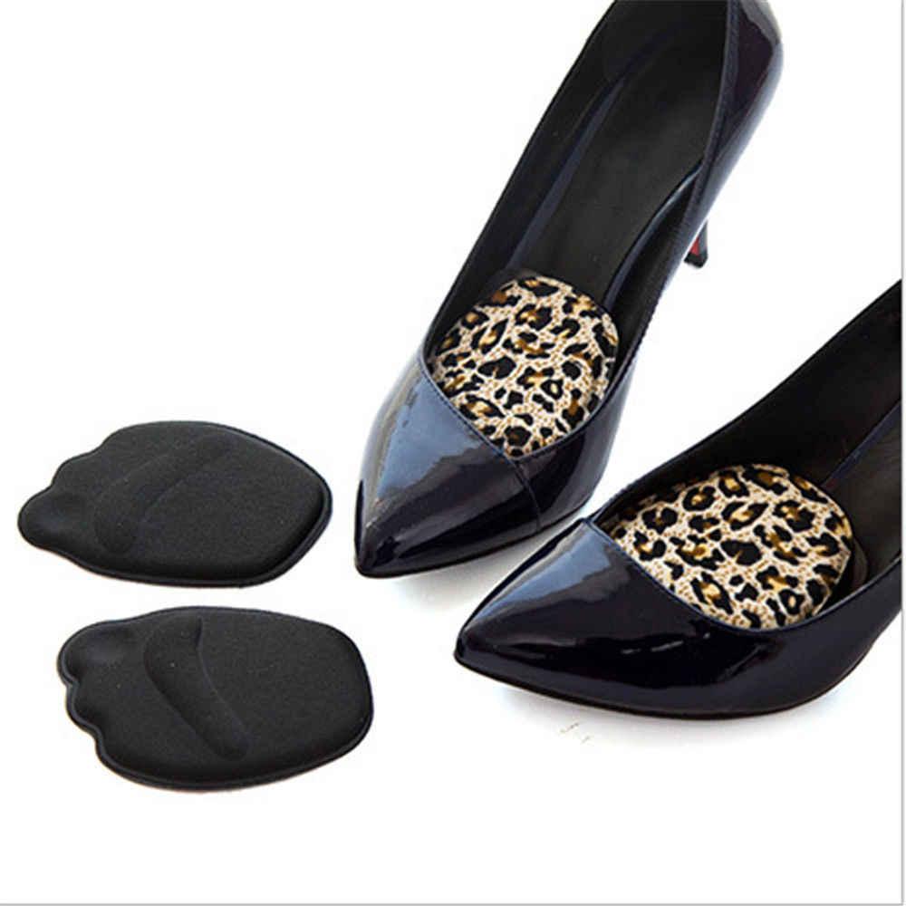 Ön ayak Tabanlık Ayakkabı Sünger Pedleri Yüksek Topuk Yumuşak Insert Kaymaz Ayak Koruma Ağrı kesici Kadın ayakkabı ekle