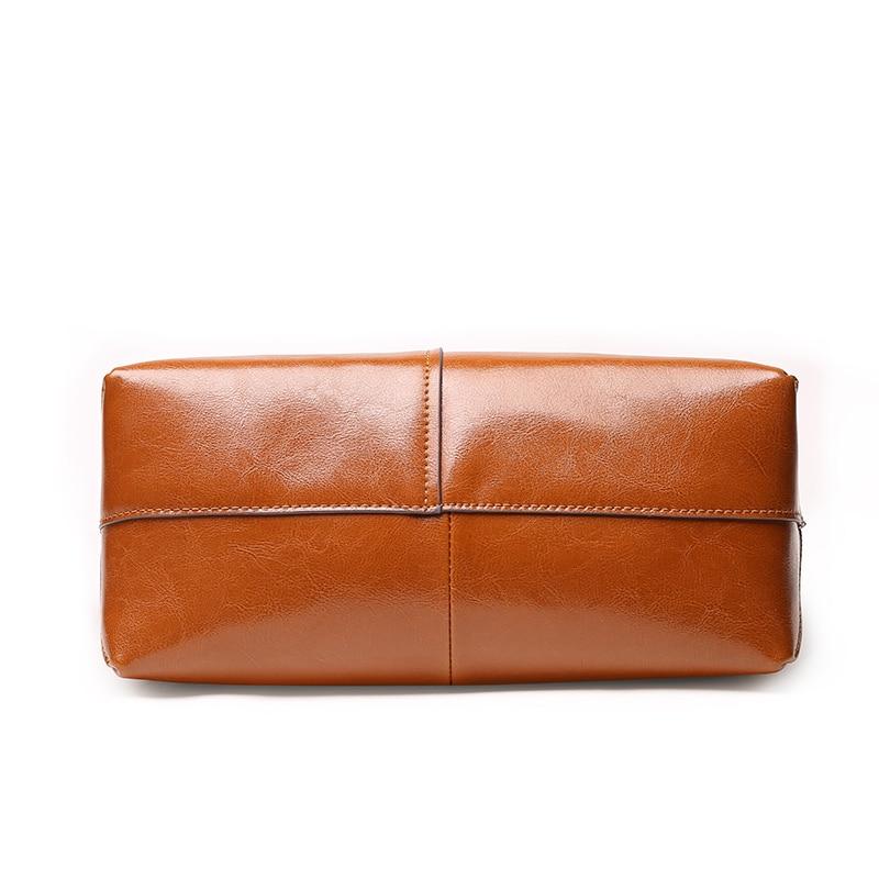 LUODUN2018 Nya läderväskor läder axelväska väska parti - Handväskor - Foto 4