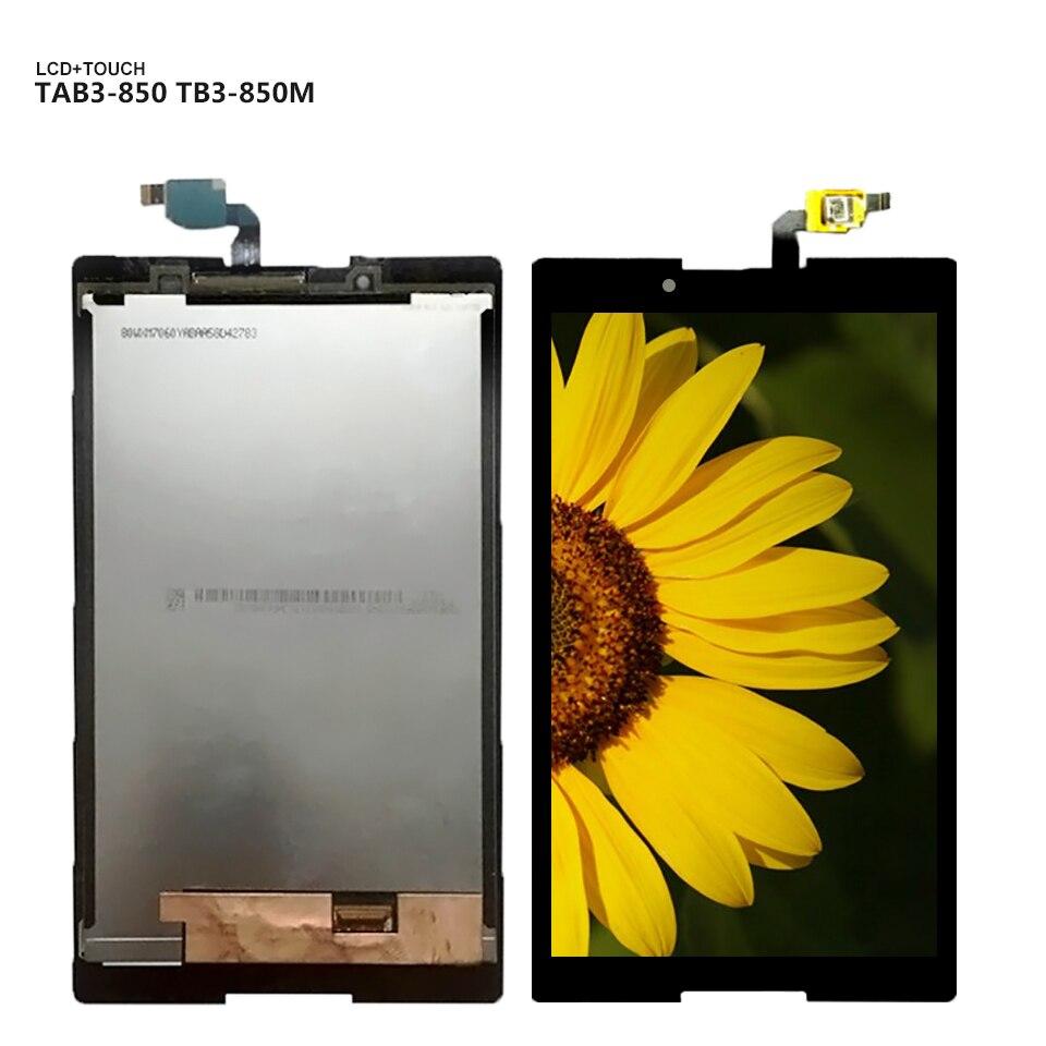 8.0'' For Lenovo Tab 3 TAB3 8.0 Tab3-850 TB3-850M TB-850M 850 850F 850 Touch Screen glass LCD Display panel digitizer assembly �������������� lenovo tab 3 tb3 850m