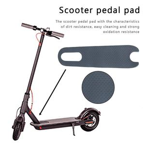 Image 1 - New High quality Anti skid Pedal Pad For Xiaomi M365 Electric Scooter Accessories Rubber Durable Pedal Pads Support Wholesale