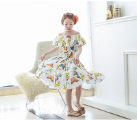 Short Sleeved New Baby Girls Butterfly Summer Dress Princess Tutu Dress Clothing AA610DS40 Eleven Story