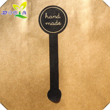 """Pudding bottle push music """"handmade"""" seal biscuit bag West Point cake box packing sticker"""