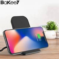 New Arrival Bakeey Qi Wireless Fast Charging Charger Stand Dock Station For IPhone X 8 8Plus