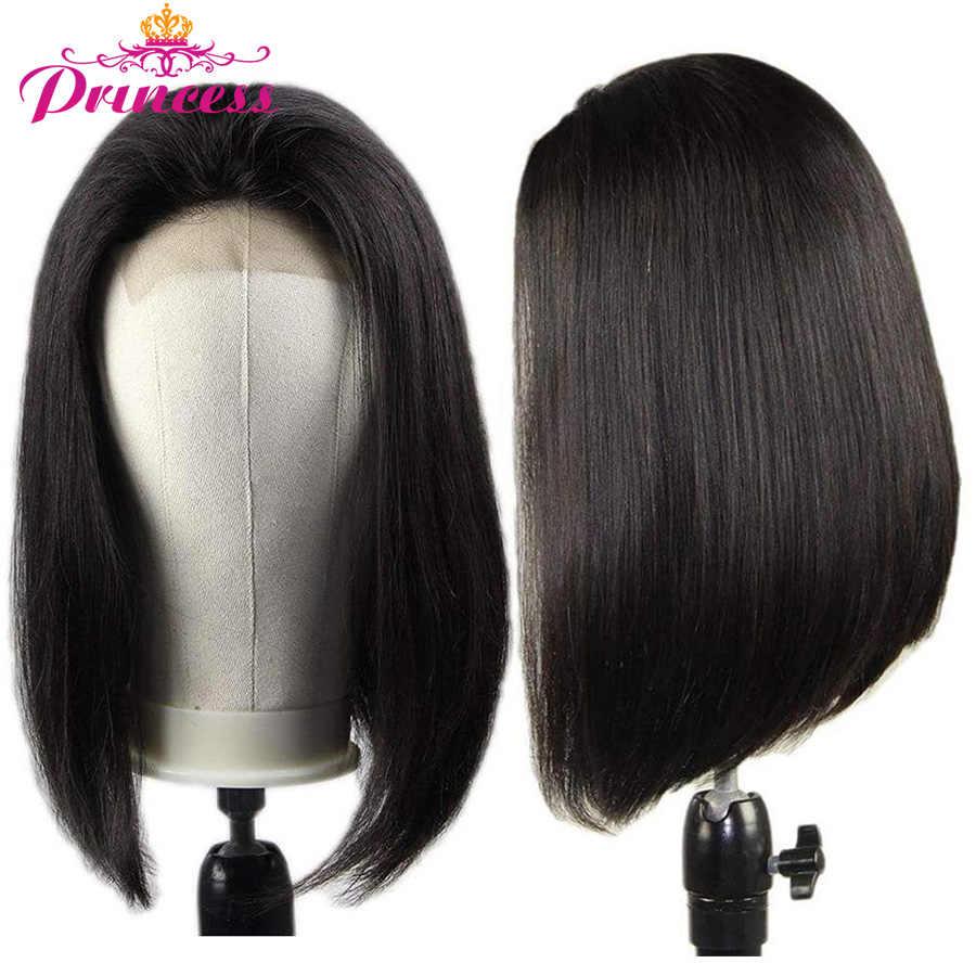 13x5 Spitze Front Menschliches Haar Perücken 150% Dichte Brasilianische Gerade Bob Spitze Frontal Perücke Für Frauen Remy Prinzessin haar Perücken