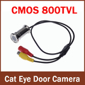 100% Brand New 800tvl Wired CCTV 1/4 CMOS 3.6mm (2.8mm)  Cat Eye Door Hole Security Color Camera