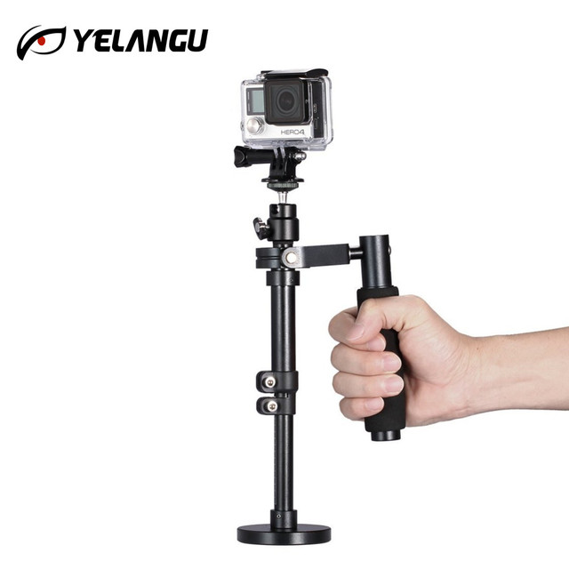 buy popular 3744a 5c363 US $50.62 29% OFF|Handheld Stabilizer Steady Steadycam Camera Stand for  GoPro 1, 2, 3, 3+, 4 and for iPhone 6 plus, 6, Samsung Galaxy S6 edge,  S6-in ...