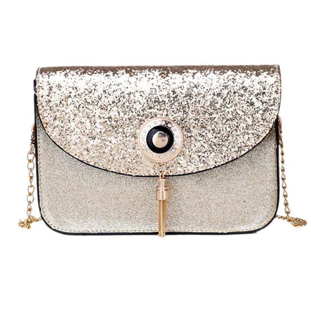 Chain Shoulder Bag Women Beautiful Handbag Sequin Tassel Small Crossbody  Bags For Women Luxury Crossbody Bag 6adde0c474379