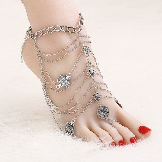 payal anklets gm anklet ankle loading itm ebay chain new image dulhan is s silver bride