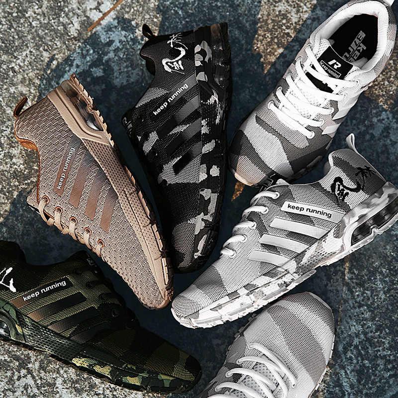Мужская повседневная обувь; коллекция 2019 года; сезон весна-лето; прогулочная обувь; мужские камуфляжные дышащие Нескользящие Роскошные качественные женские кроссовки; обувь