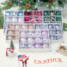 2019 New Christmas Tree Ball Baubles Decoration Xmas Hanging Home Party Ornament Decor Ornaments