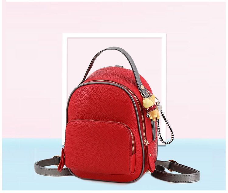 d6f35b260d Multifunctional backpack female shoulder bag small High quality PU leather  women backpacks for teenage girls Korean ...