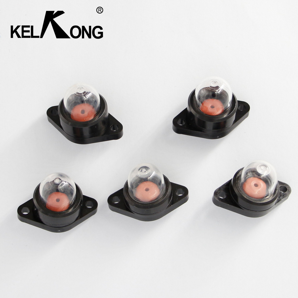 KELKONG 5pcs Petrol Snap in Primer Bulb Fuel Pump Bulbs for Chainsaws Blowers Trimmer Chainsaw Carburetor kelkong 5 carburetor primer bulbs fuel pump oem for chainsaws blowers trimmer homelite echo ryobi poulan parts