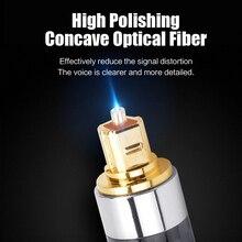 MOSHOU 15M Optico Digital Audio Video Cables Oxyacid Free Co