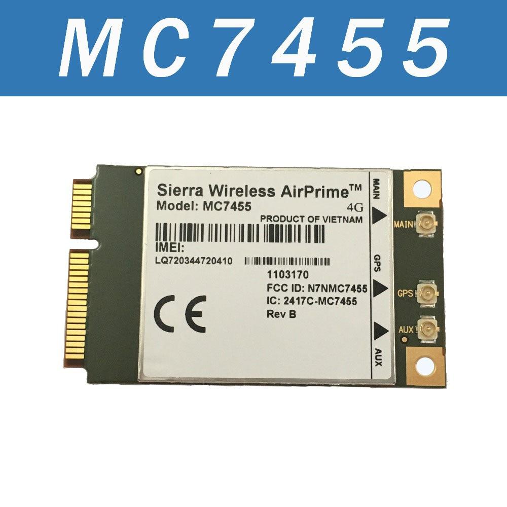 Sierra Wireless MC7455 4G LTE Cat 6/ 3G WCDMA GNSS mini PCIE