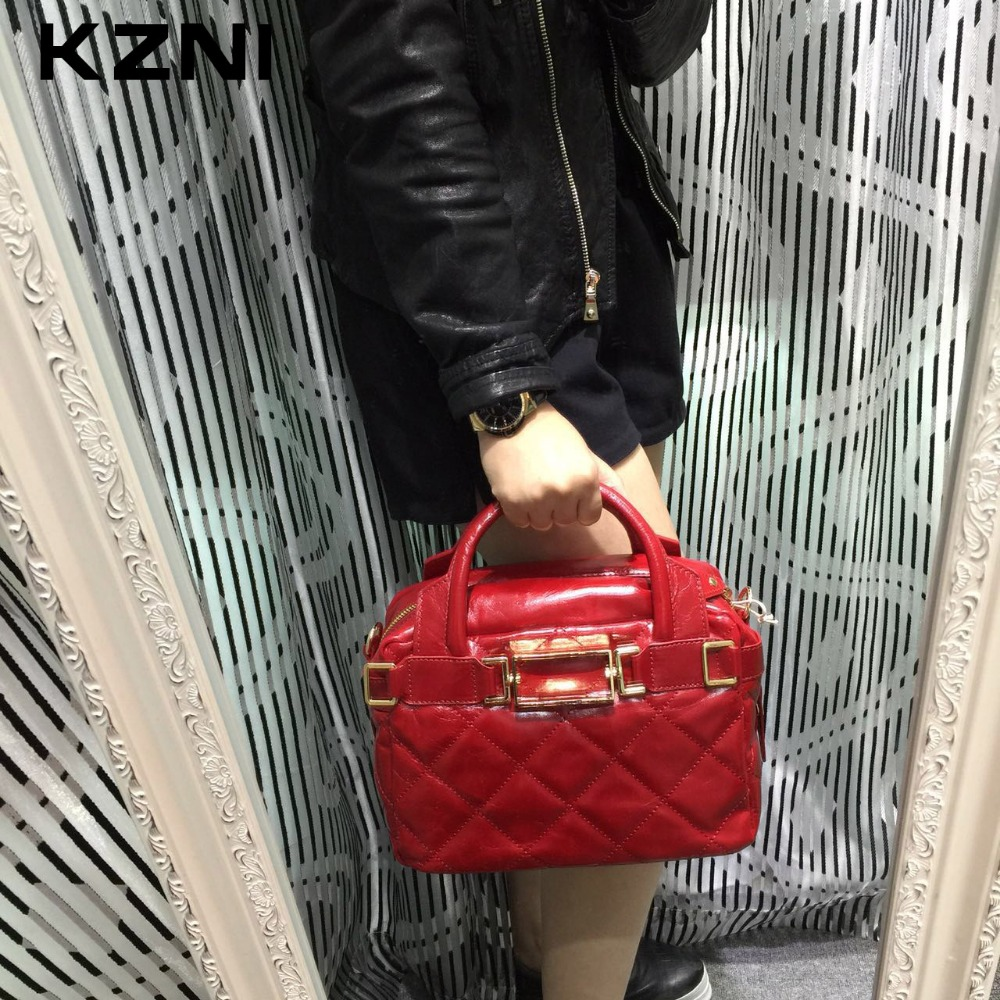 KZNI Genuine Leather Evening Clutch Bags Designer Handbags High Quality Purses and Handbags Sac a Main Femme De Marque 1162-1168 kzni genuine leather handbag women designer handbags high quality phone bag purses and handbags pochette sac a main femme 9022