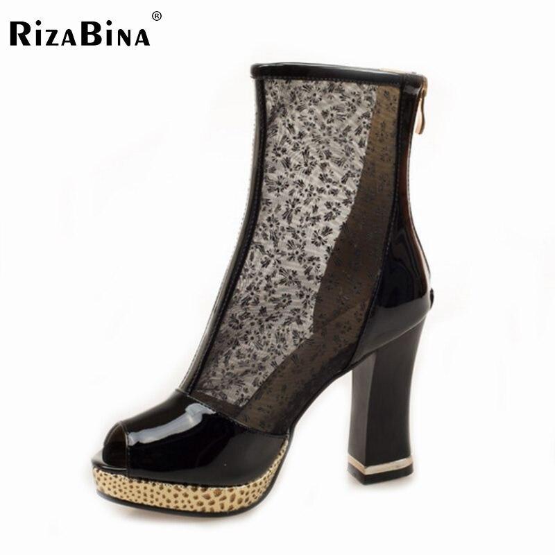 ФОТО women platform high heel shoes cutout brand lady spring peep toe fashion heeled pumps heels shoes plus big size 32-44 P16864