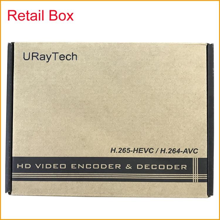 URay H.264 VGA + Audio Stereo Në Encoder IP të Streamit IPTV - Audio dhe video në shtëpi - Foto 5
