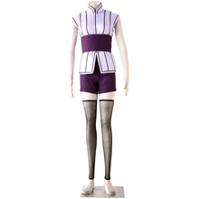 Naruto Cosplay Hyuga Hinata Costume fourth Generation Suit Womens Dress Casual C87