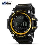 LOKMAT Bluetooth Smart Watch Sport Pedometer Waterproof IP67 Sport Digital Smartwatch Relogio Masculino For Ios Android