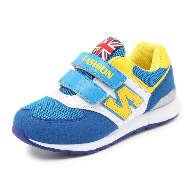cdd08f4db Crianças meninos e meninas Sapatilhas crianças sapatos casuais sapatos de  desporto 4-14 Anos meninos