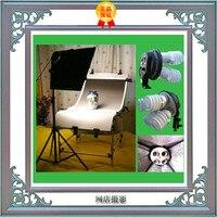 box studio photo Mito tetralogy lamp professional softbox 45X45cm photography light black gradient background paper CP