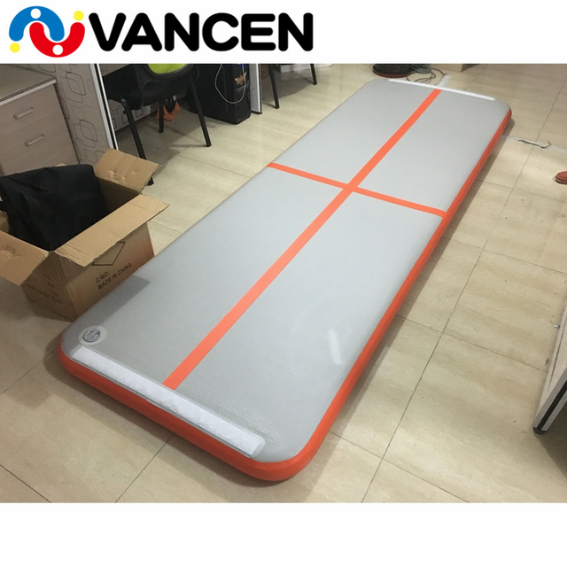 New Design Fitness Equipment Air Gymnastics Mats Floor Inflatable Track,Trainer Tumble Track Inflatable Gym Mat for Sale