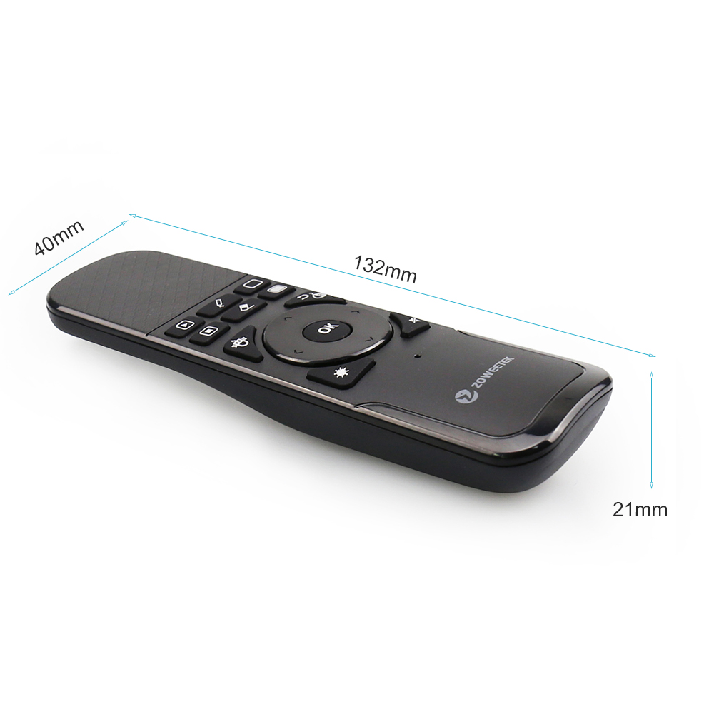 Original Zoweetek I7 PPT Presentation Wireless Presenter Android Air Mouse Control Remote Controller for TV Top Box IPTV HTPC