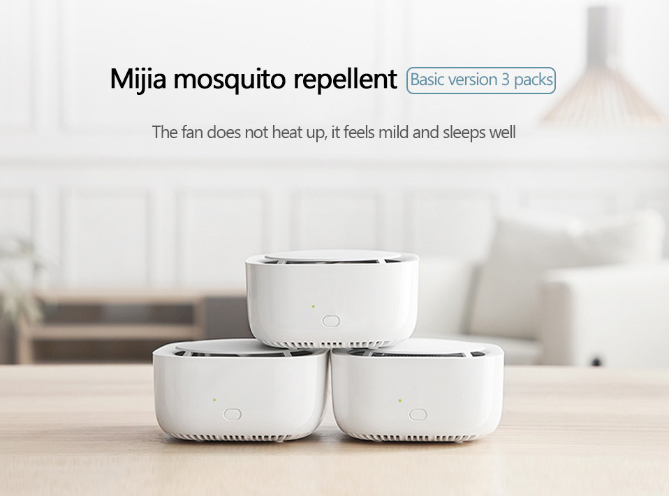 2019 New Xiaomi Mijia Mosquito Repellent Killer Smart Version Phone timer switch with LED light use 90 days Work in mihome AP (20)