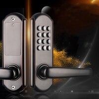 Nuevo Bloqueo de puerta de botón de empuje Digital de alta gama cerradura de código de combinación