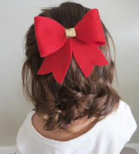 Children Kids Girls Bowknot Headband Bow Hair Clip Hair Accessories For Girl gift Headwear