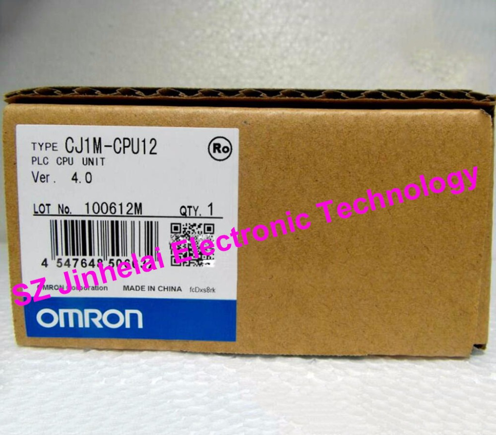 CJ1M-CPU12 New and original OMRON PLC CPU UNIT nema23 geared stepping motor ratio 50 1 planetary gear stepper motor l76mm 3a 1 8nm 4leads for cnc router
