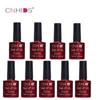 CNHIDS 9 PCS Nail Gel Polish LED Shining Colorful 132 Colors 10ML Long lasting soak off Varnish cheap Manicure