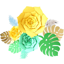 PATIMATE Weeding Decoration for Weddings Rustic Wedding Decors Paper Flowers Happy Birthday Party Decor Home Supplies