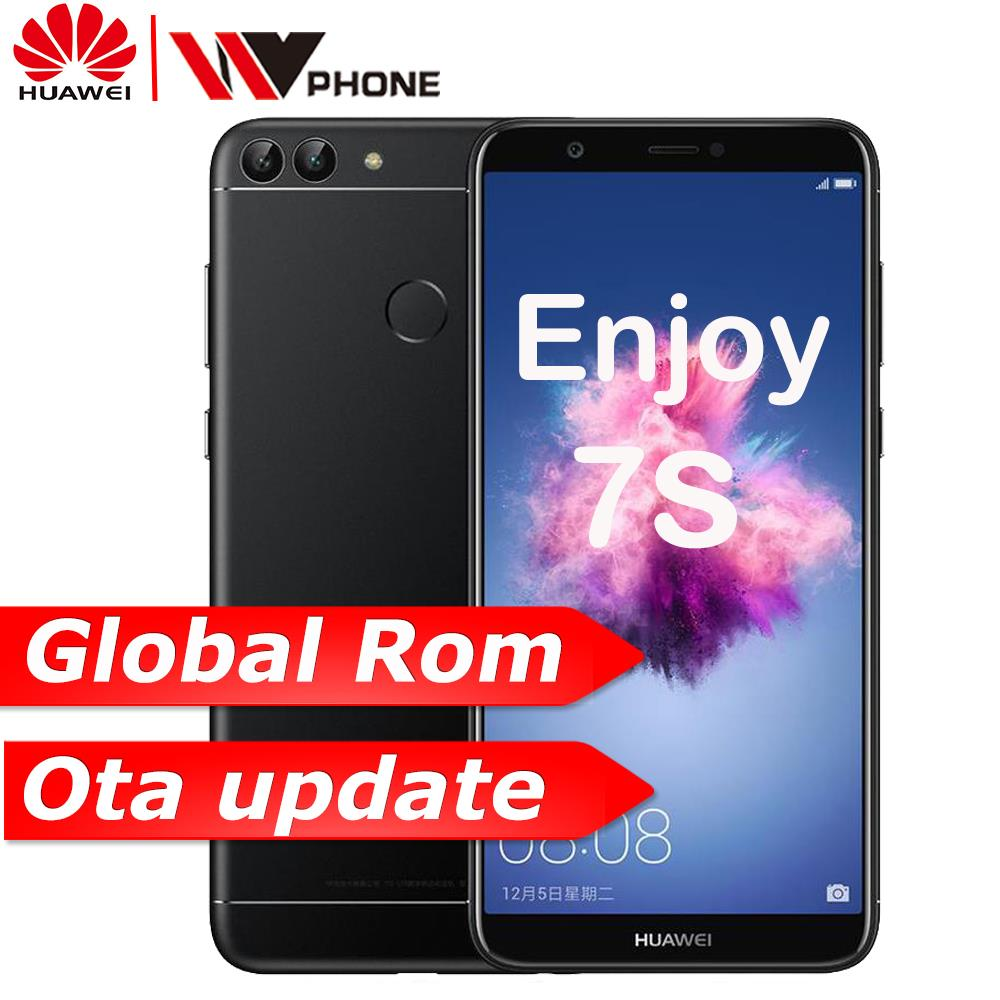 Huawe P Smart Enjoy 7S 3G 32G Octa core 5.65» 2160*1080P Android 8.0 3000 mAh Dual Rear Camera Fingerprint ID